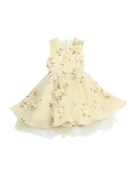 Circle Dress Tulle Yellow (5-6 y.o)