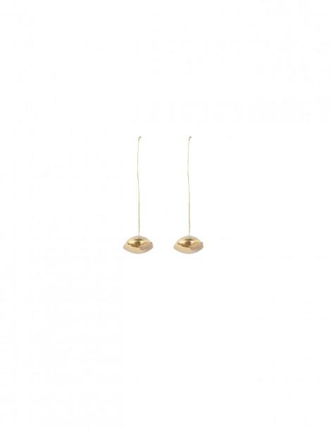 Long Earring Brass