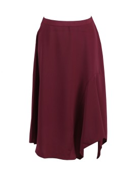 A&D MS 1055 Maroon Skirt - Maroon