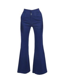 Indigo Cutbray Pants