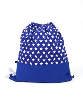 Blue Stars String Bag