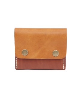 Double Snap Clip Wallet Honey