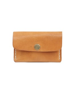 Snap Clip Compact Wallet Natural