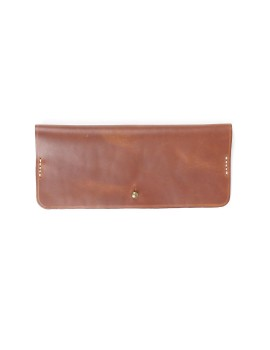 Rectangle Glasses Case Brown