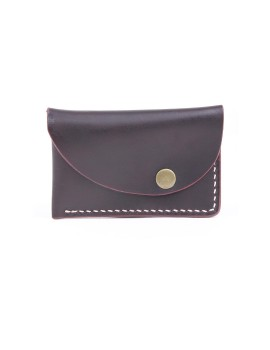Slanted Wallet Brown