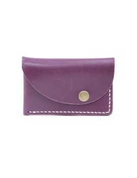 Slanted Wallet Purple