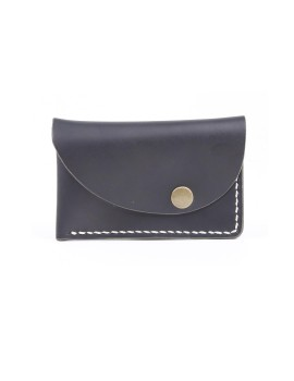 Slanted Wallet Black