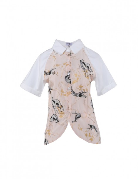 Dress Me Propper Shirt Blouse