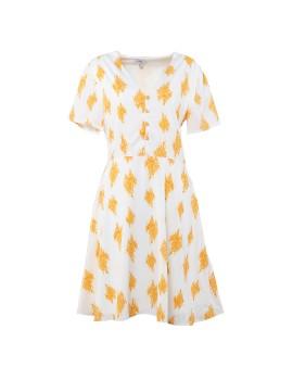 Tangerine Blossom Dress