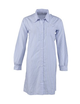 Classic Shirt Dress Sky Stripe