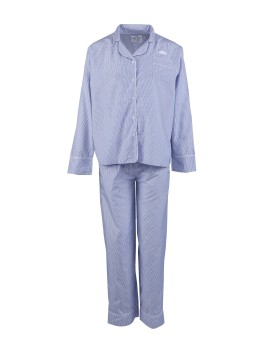 Classic PJ Set (Long Sleeve + Long Pants) Oxford Stripes