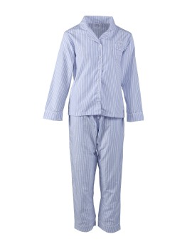 Classic PJ Set (Long Sleeve + Long Pants) Sky Stripe