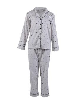 Classic PJ Set (Long Sleeve + Long Pants) Moon and Stars