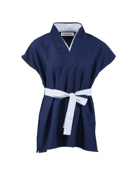 Hikari Top Navy Blue