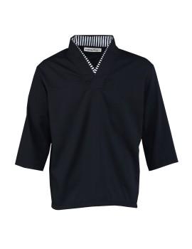 Arashi Top Black 7/8 Sleeve