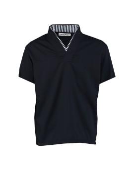 Arashi Top Black Short Sleeve