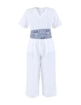 Anila Jumpsuit White
