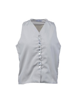 Leah Shell Buttons Top