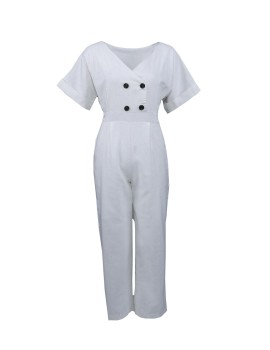 Milly Jumpsuit White