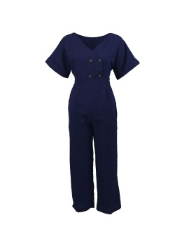 Milly Jumpsuit Navy