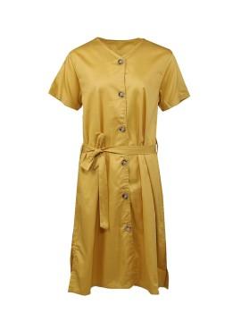 Morries Dress Mustard