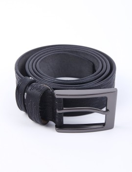 Fonbelt Leather Black 642