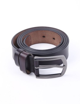 Fonbelt Leather Dark Brown 640
