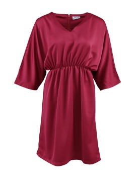 Sharon Dress Maroon