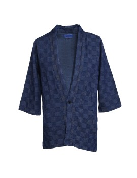Denim Noragi Checkered