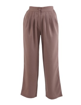 Ajwa Pants in Brown