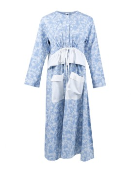Xaka Dress in Denim