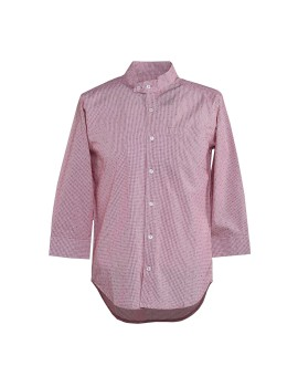 Red Jacquard Tang Shirt