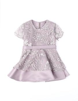 2 Layer Dress Purple (1 y.o)
