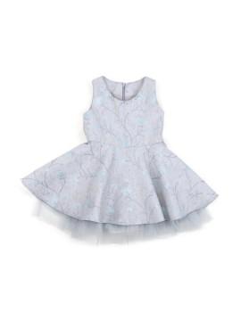 Circle Dress Tulle Grey (2-3 y.o)