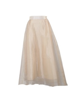 Candy Skirt Beige Gold