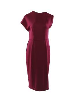 Basia Dress Maroon