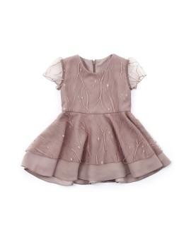 2 Layer Dress Chocolate (1 y.o)