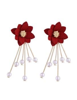 Hestia Earrings Red