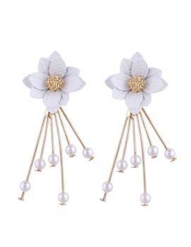 Hestia Earrings White