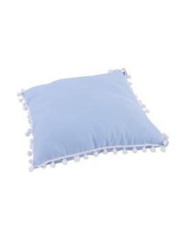 Snowy Pillow Blue