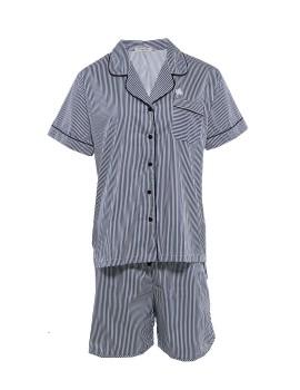 PJ Basic Short Pants Stripe Black