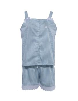 PJ Tank Top Stripe Blue