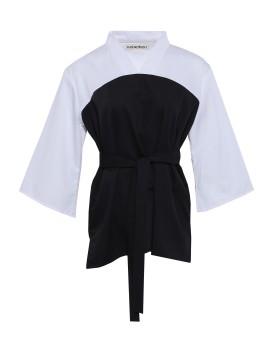 Haruka - Black/White Top