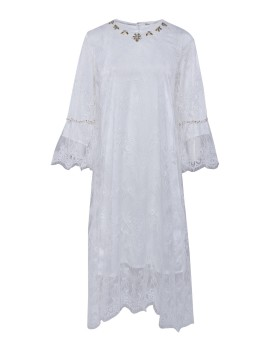 Danira Dress White