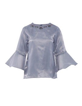 Luna Top Soft Grey