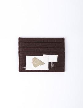 Sadajiwa Patched Cardholder Hazel
