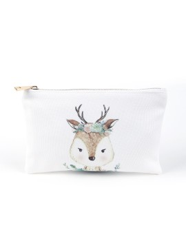 Mini Pouch - Garden Deer
