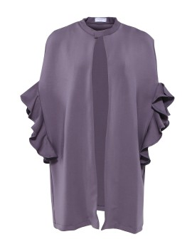 Stella Cape Dark Grey