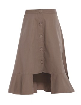 Jolene Skirt Choco Brown