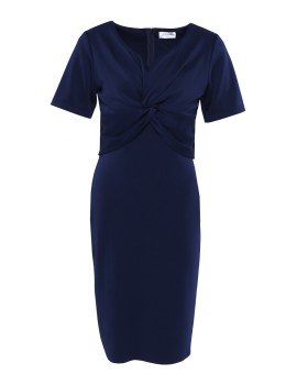 Belle Dress Navy